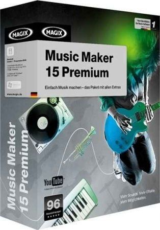 Magix Music Maker 15 Premium